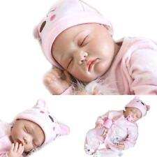 Reborn Baby Girl Doll Realistic Dolls Lifelike Silicone Babies Toys Gifts Bebe