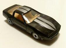 Vintage Yatming 1980's Chevy Corvette Black Chevrolet