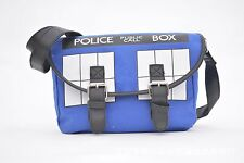 Doctor Who Fans Police Box Canvas Satchel Purse Cross Body Messenger Bag Hot