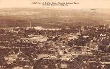 Bristol Connecticut Aerial View Antique Postcard J58725