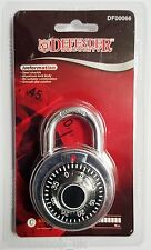COMBINATION PADLOCK 50MM SECURITY LOCK LUGGAGE SCHOOL LOCKER GARAGE