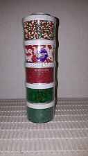WILTON SELECT HOLIDAY/CHRISTMAS SPRINKLE SET NEW