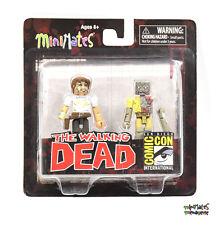 Walking Dead Minimates SDCC Exclusive Rick Grimes & Vacation Zombie