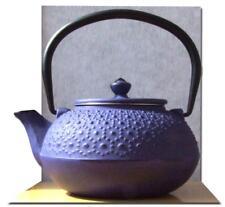 Cast Iron Purple Daisy Tetsubin teapot  0.6L