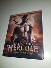 LA LEGENDE D HERCULE BLURAY 3D + DVD STEELBOOK FRANCE