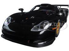 1997 PORSCHE 911 GT1 PLAIN BODY VERSION BLACK 1/18 DIECAST MODEL AUTOART 89770