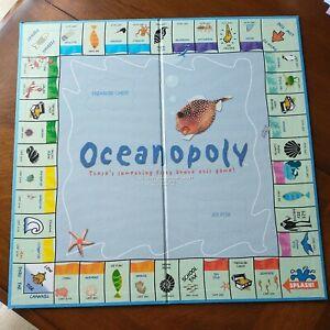 Oceanopoly Game Board