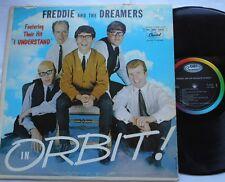 FREDDIE & THE DREAMERS In Orbit VG++ CANADA ORIG 1965 MONO CAPITOL 6000 Serie LP