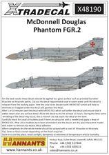 Xtradecal 1/48 McDonnell Douglas Phantom FGR.2 # 48190