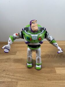 Buzz Lightyear Toy Story Action Figure Disney 64081 Think Away Toys 12""