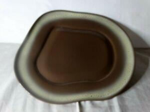 """Vintage Tamac Frosted Fudge 12"""" large platter"""