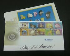 Royal Headgear Malaysia 2008 King Sultan (stamp FDC) *signed *rare