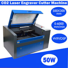 DSP High Precision USB 5030 50W CO2 Laser Cutter Engraving Cutting Machine 110V