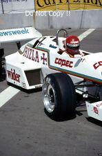 Eliseo Salazar Ram equipo marzo 01 USA West Grand Prix 1983 fotografía 4