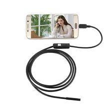 Endoscope USB Android et PC - Caméra étanche 7 mm à lentille Cable 2M - 6 LE