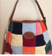 Vineyard Vines Multi Colored Bag Corduroy And Leather $225