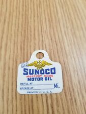 Sunoco Mercury Made Nos Oil Change Tags - Sign Oil Can Auto Vintage Gas