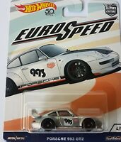 2018 HOT WHEELS DIE CAST EURO SPEED PORSCHE 993 GT2 CAR 4