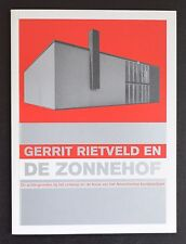 de Zonnehof, Amersfoort # GERRIT RIETVELD # 2001, mint