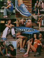 Publicité contemporaine mode chaussure Skechers  2003 issue de magazine