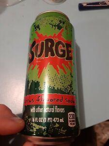 surge soda 16 ounce can full