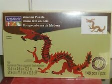CHINESE DRAGON WOODEN 3D PUZZLE CONTRUCTION KITS