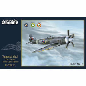 Special Hobby 48214 Hawker Tempest Mk.II High-Tech 1:48 Plastic Model Kit