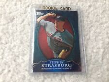 2010 Topps WalMart Exclusive Refractors WME-3 Stephen Strasburg Nationals
