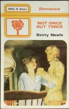 Vintage Harlequin Romance, Mills & Boon, Not Once But Twice, Betty Neels