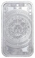 Golden State Mint Aztec Calendar 1 oz Silver Bar BU SKU60711
