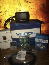 Vilros Raspberry Pi 3 Model B (many extras) Complete Starter Kit Clear case
