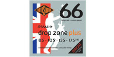 Rotosound Rs66Lhplus Drop Zone Stainless Steel 4 String Bass Strings 85-175