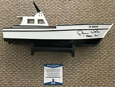 DAWN WELLS Signed Model SS MINNOW Boat MARY ANN Gilligan's Island TV BAS COA