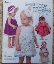 Annie's SWEET BABY DRESSES in Crochet baby dress crochet pattern book