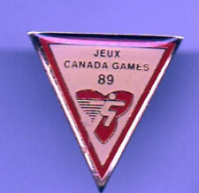 Jeux CANADA GAMES 1989 Enamel old pin Badge tacpin