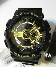 Authentic Casio GA-110GB-1A G-Shock Black x Gold Limited Men Watch GA110 GA110GB