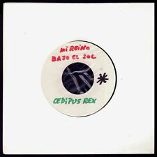 "OEDIPUS REX - TEST PRESSING - MI REINO BAJO EL SOL - SPAIN 7"" MOVIEPLAY 1970"
