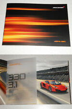RARE CATALOGUE MC LAREN MP4-12C 2011 LEWIS HAMILTON 28 PAGES EN ANGLAIS