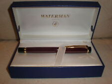 Waterman Liaison Ruby Red & Gold Trim  Rollerball Pen New In Box