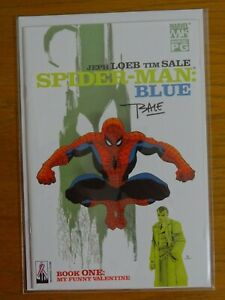 SPIDER-MAN: Blue #1-6 signed Tim Sale 2002