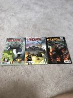 Weapon H #1 (2018 )!!!  3 Book Variant Lot!!!!