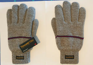 Dents Wool Knitted Gloves. 3M Thinsulate Thermal insulation 100g Men Size XL New