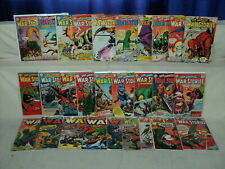 Star Spangled War Stories 110-137 SET Solid! #120! 1963-1968 DC Comics (s 10924)