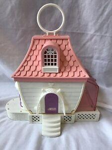 1983 Charmkins Jewelry House Vintage Hasbro Doll Mini Toys Original Case Plastic