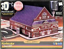 Kodacolor Three Dimensional 3D Photoscape Ryman Auditorium Moderate Skill 1998