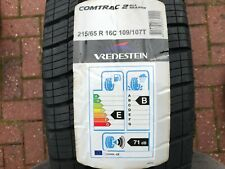 1 x NEW 215 65 16 VREDESTEIN COMTRAC 2 ALL SEASON TYRE  215/65 R16C 109/107T