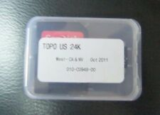 Garmin Topo U.S. 24K - West Map Micro sd card Ca & Nv 010-C0949-00
