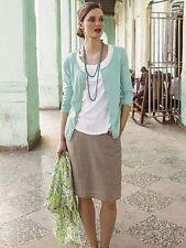 White Stuff Knee Length Linen Casual Skirts for Women