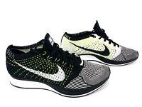 ef9b5b8665eb Nike Flyknit Racer  Oreo  526628-012 White   Black Men s Size 12 US ...