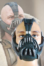 Batman:The Dark Knight Rises Bane Dorrance Mask Cosplay Party Prop Helmet Black